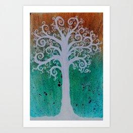 Tree of Day Dreams Art Print