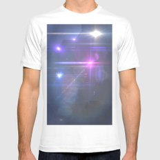 Space Mens Fitted Tee MEDIUM White