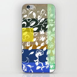 Unconventional lace iPhone Skin