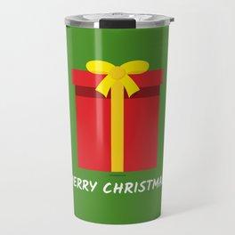 Red Gift - Merry Christmas Travel Mug