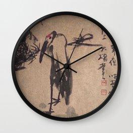SH 20 - Bird  Wall Clock