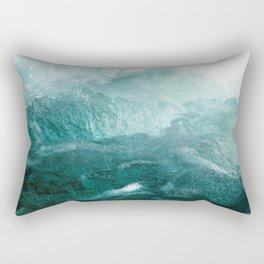 Sea Waves In Italy Rectangular Pillow