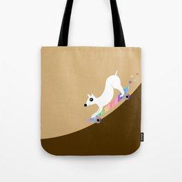 Skate dog Tote Bag
