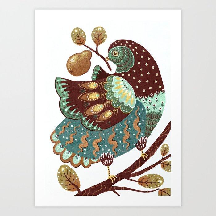 A Partridge In A Pear Tree II Kunstdrucke
