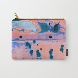 Riddled with Rust Cotton Candy Carry-All Pouch