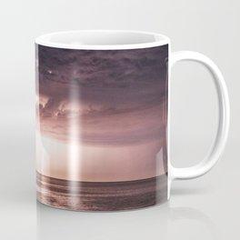 Lightning over water Coffee Mug