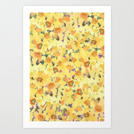 Daffodil Fields Art Print
