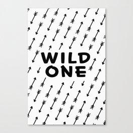 Wild one II Canvas Print