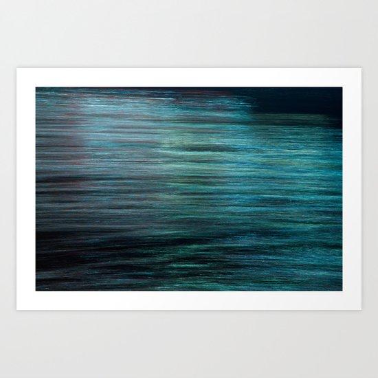Night Light 138 - Ocean Art Print
