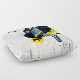 Adam West - Bat Man Life Magazine Cover Floor Pillow