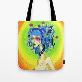 Medusa Has a Candy Coating Tote Bag