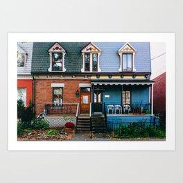 Le Plateau Mont Royal - Montreal, Canada - #7 Art Print