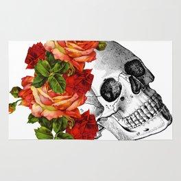 Dia De Los Muertos Sugar Skull Rug