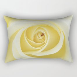 Beautiful Yellow Rose Rectangular Pillow