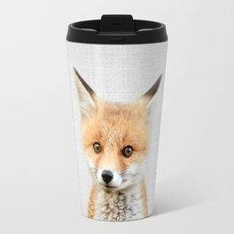 Baby Fox - Colorful Travel Mug