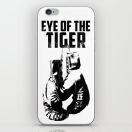 Eye of the Tiger iPhone Skin