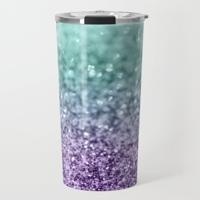 Mermaid Girls Glitter #9 #shiny #decor #art #society6 Travel Mug