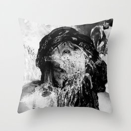 Holy Damned II Throw Pillow