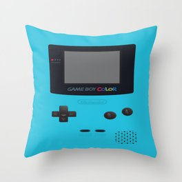 GBC Blue Throw Pillow