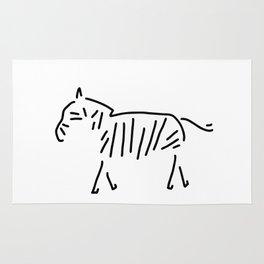 zebra Africa Rug