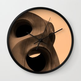 Guadi in Barcelona Wall Clock