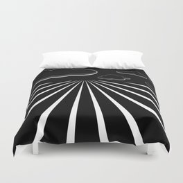 Dark Sky on the Horizon Duvet Cover