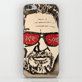 """The Dude Abides"" featuring The Big Lebowski iPhone Skin"