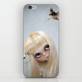 Erregiro Blythe Custom Doll, The White Horse iPhone Skin