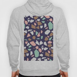 Colorful Modern Terrazzo Vector Pattern Hoody
