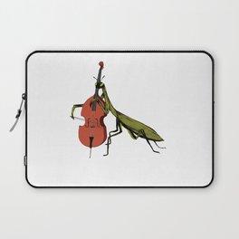 Praying Mantis Tries Cello Laptop Sleeve