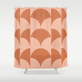 Cleo Pattern - Sunset Shower Curtain