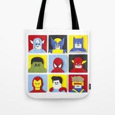 Felt Heroes Tote Bag