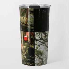 fushimi inari imagery // iv Travel Mug