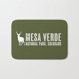 Deer: Mesa Verde, Colorado Bath Mat