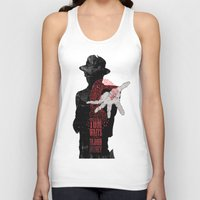 tom waits Tank Tops featuring Tom Waits by J.C.D