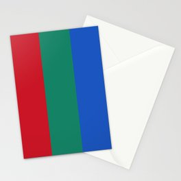 Flag of planet Mars Stationery Cards