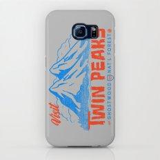 Visit Twin Peaks (orange) Slim Case Galaxy S6
