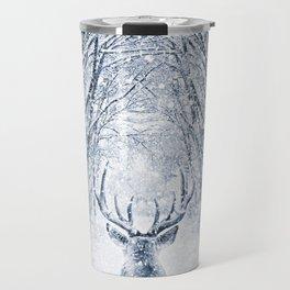 Winter deer Travel Mug