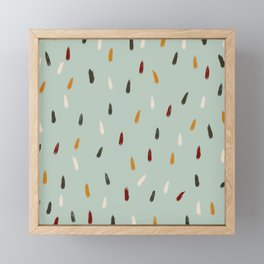 Inkanyamba - Colorful Decorative Abstract Art Pattern Framed Mini Art Print