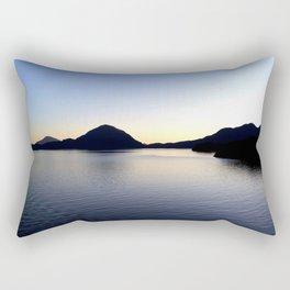 Salish Sea Sunset - Canada Rectangular Pillow
