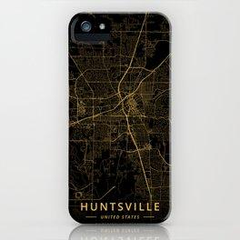 Huntsville, United States - Gold iPhone Case
