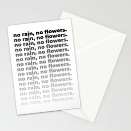 No Rain No Flowers Quote, Life Quotes, Large Printable Photography, Wall Art Print Decor Stationery Cards