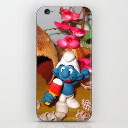 Smurf Ice Cream iPhone Skin