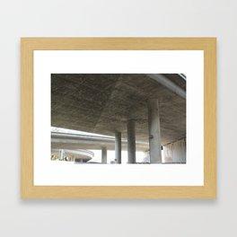 Concrete Standing Framed Art Print