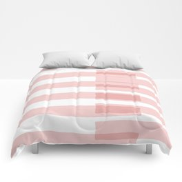 Big Stripes in Pink Comforters