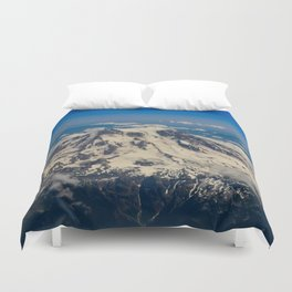 Pacific Northwest Aerial View - II Duvet Cover