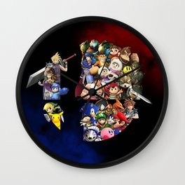 Arcade Mix Wall Clock