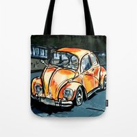 bug Tote Bags featuring Bug by Jonas Ericson