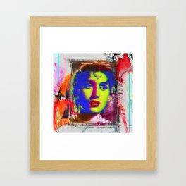 Madhubala Framed Art Print