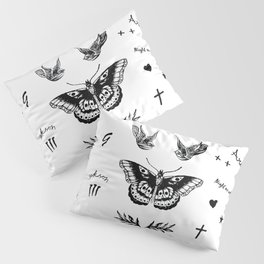 Harry's Tattoos Two Pillow Sham